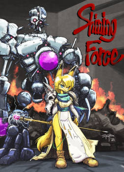 Alef and Chaos from Shining Force