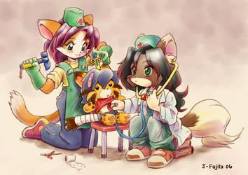Play Doctor by j-fujita