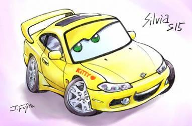Silvia S15 by CARS style by j-fujita