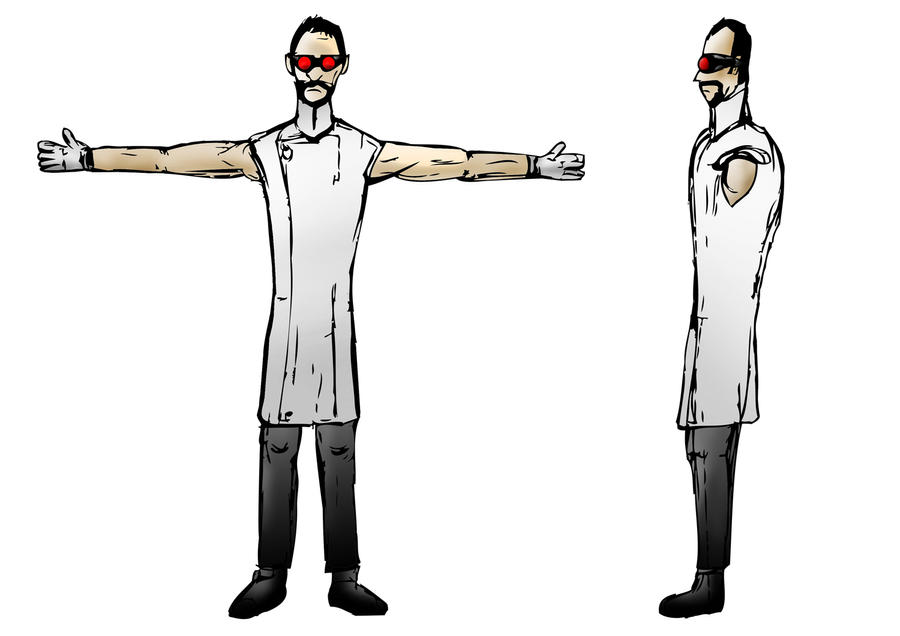 3d Character Model Sheet dr Character Model Sheet by