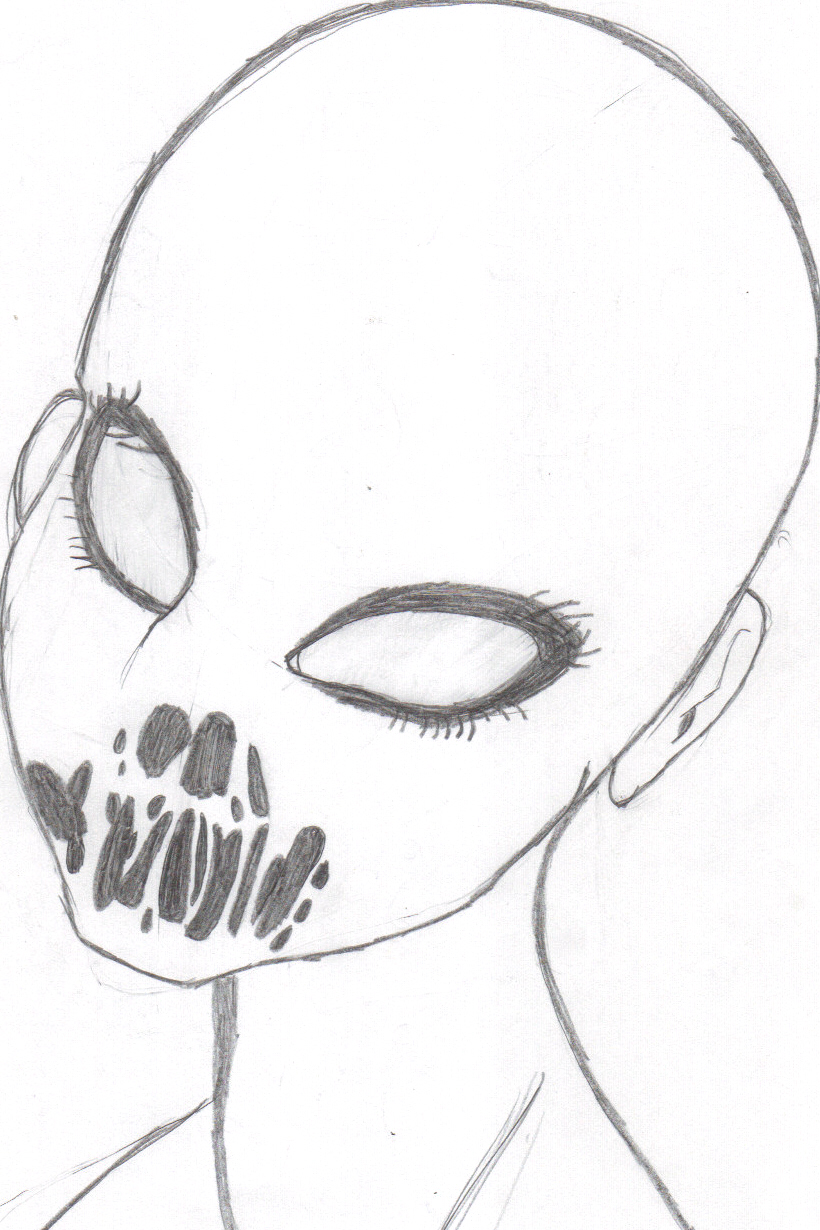 Demon Face Drawings Viewing Gallery