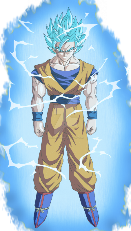 goku super saiyan blue 2 by paul sama2859 on deviantart