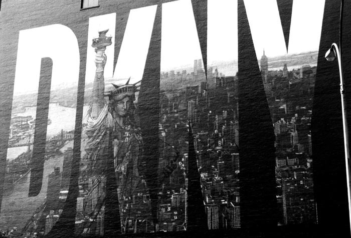 DKNY wall ad NY by alessandrodelp
