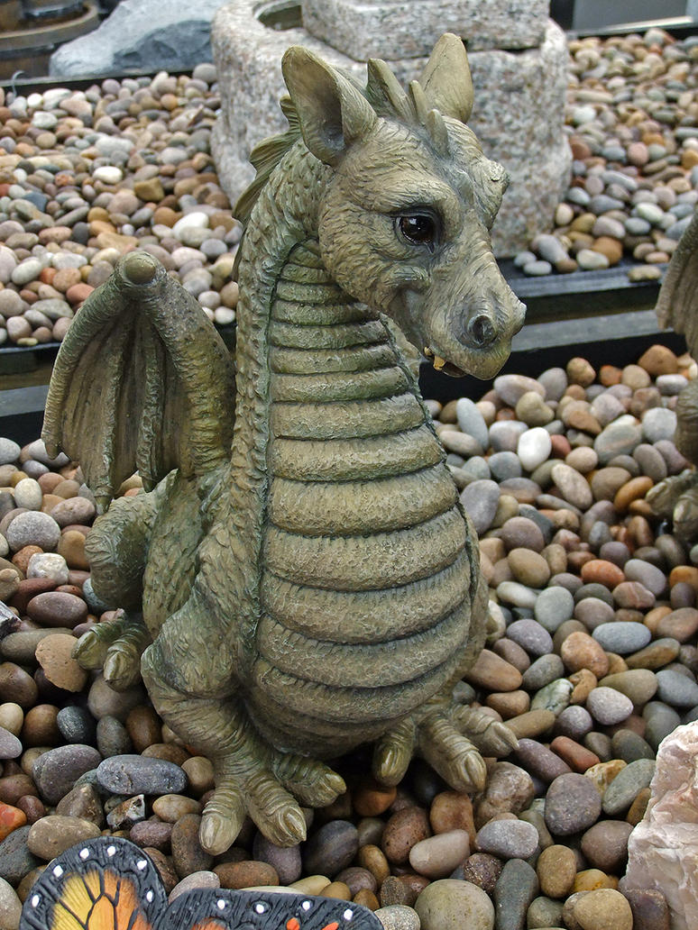 Dragon Garden Ornament 001 by SpyderGenie on DeviantArt
