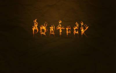 fire text by pratt29