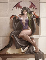 darkstalkers tribute by leirs