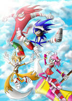 Sonic Boom! by TheHummingInker