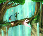 Hyrule Warriors Link - Forest of Fairies
