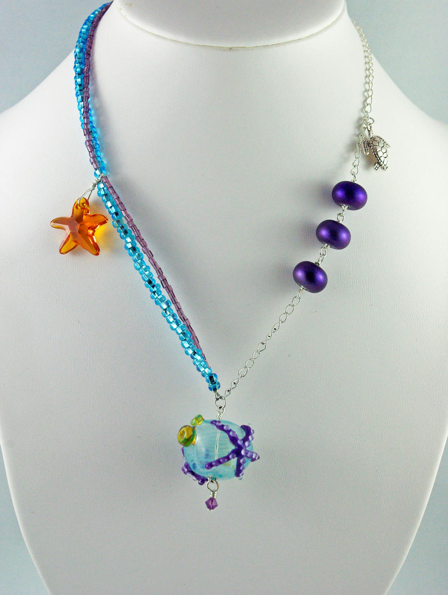 Under the sea necklace by michelleaudette on deviantart for Sell gold jewelry seattle