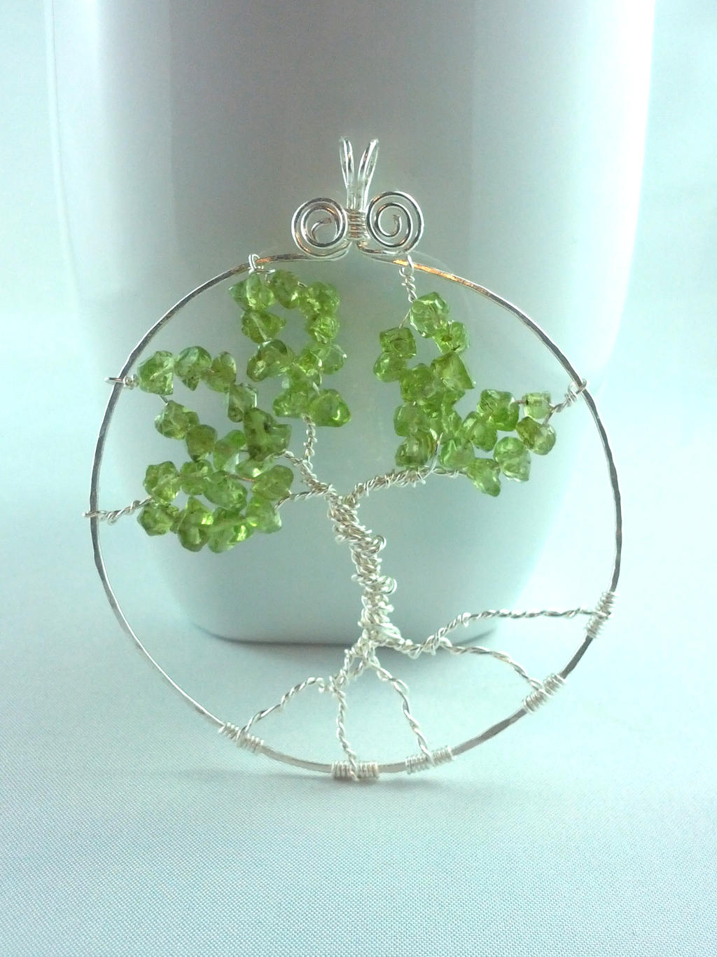 Tree of Life Pendant by michelleaudette