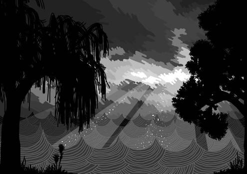 Illustration for book Night desert, pt.2