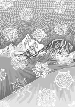 Illustration for book Night desert, pt.3