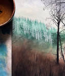 Winter walk forest