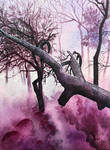 Pink mist twillight