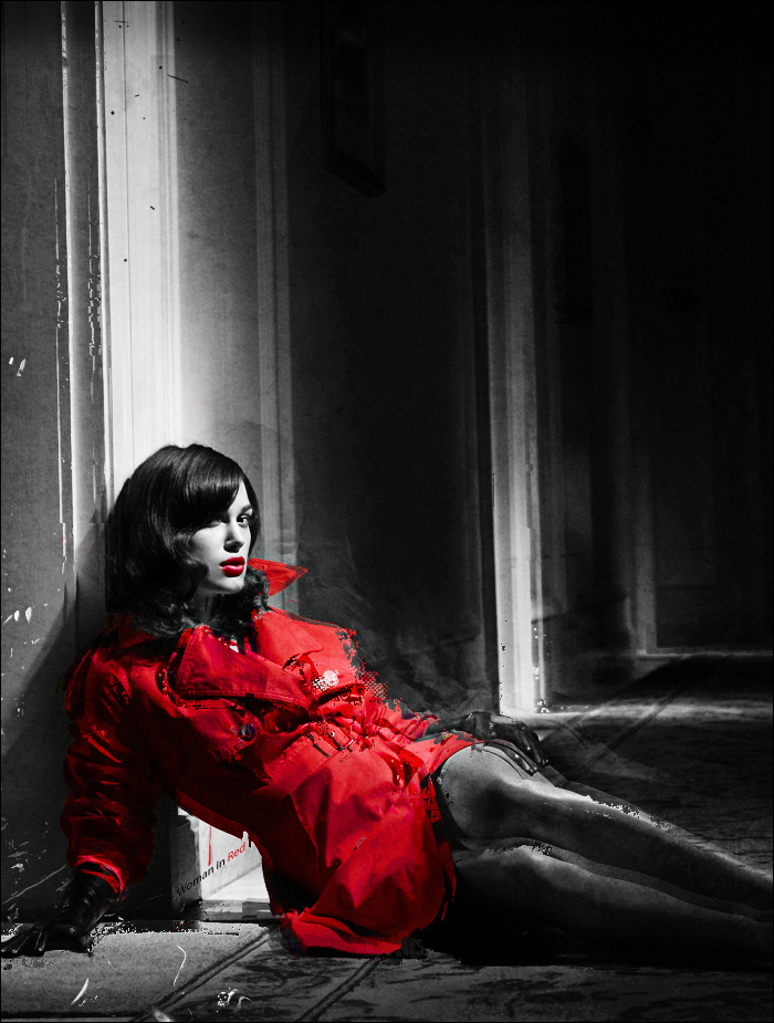 Woman In Red by Dig-Wall