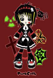 Kawaii Clothing - Punk Gothic