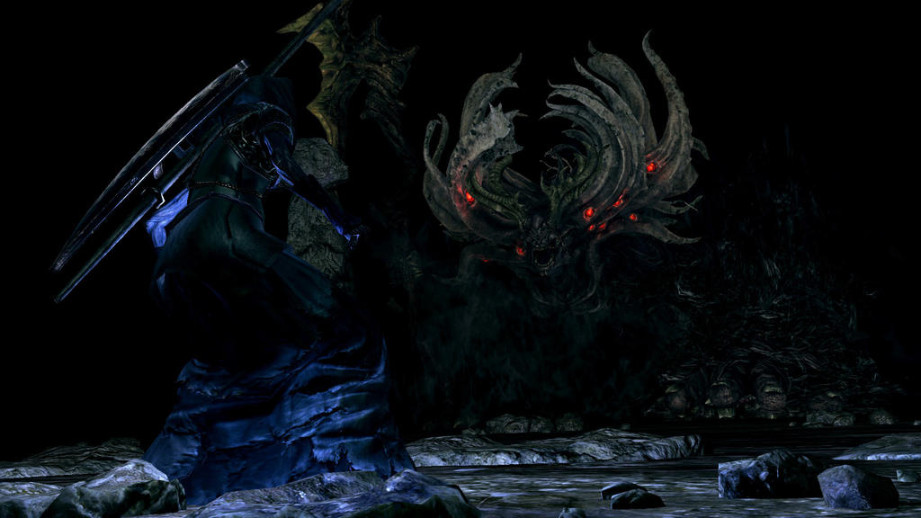 manus father of the abyss by 4dimensional on deviantart