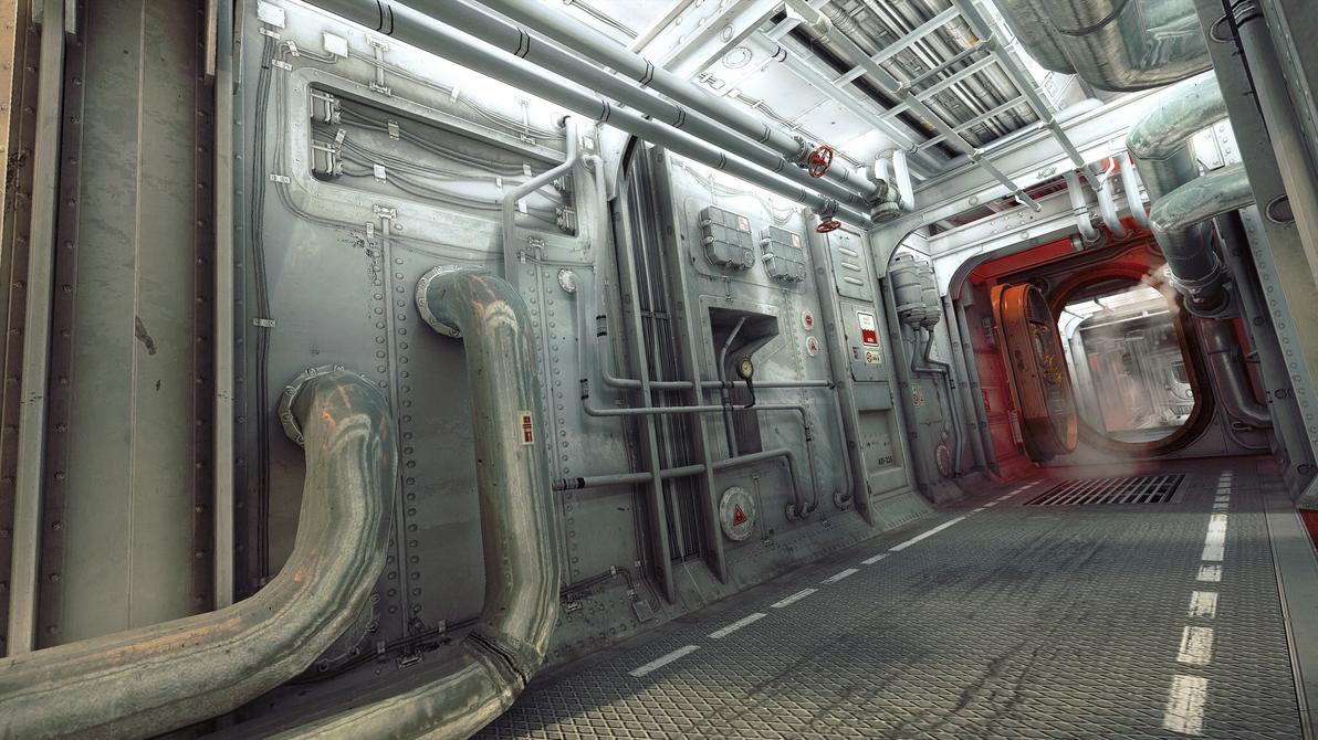 Submarine Interior By 4dimensional ...