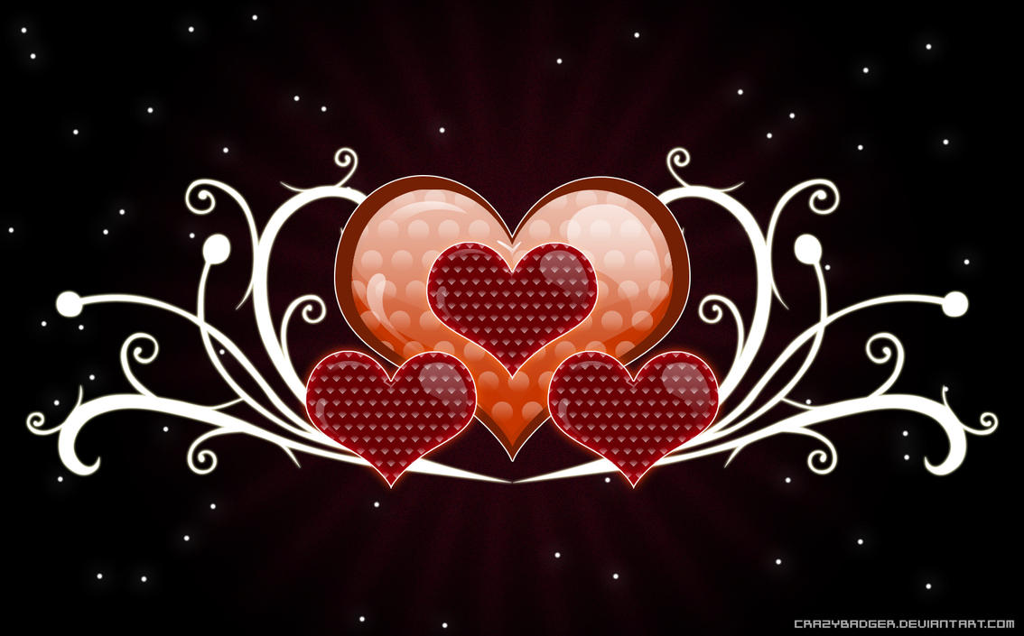 Wallpaper - Valentine by crazybadger