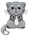 Pixel kitty by viktori-Dv