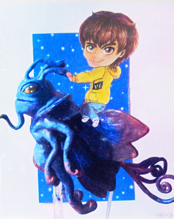Dendi with Puck by viktori-Dv