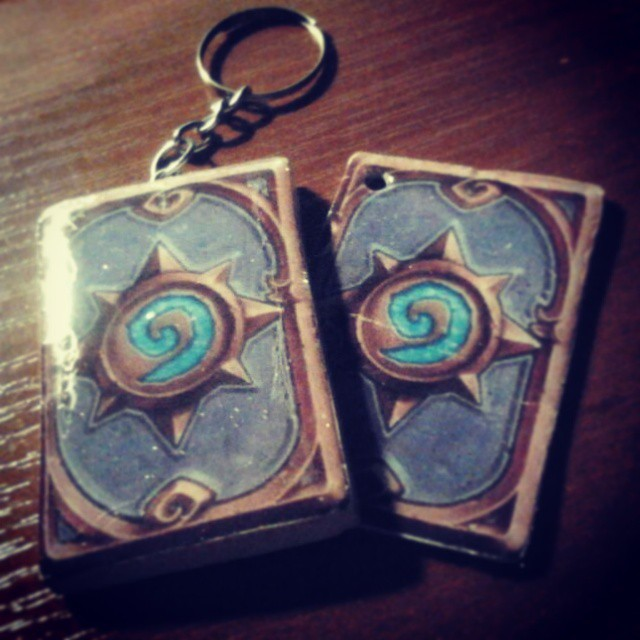 hearthstone cards accessories by viktori-Dv