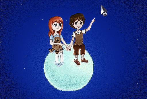 On the moon by viktori-Dv