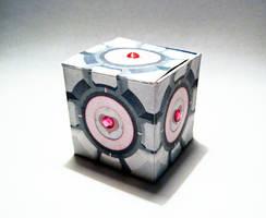 Paper portal cube by viktori-Dv