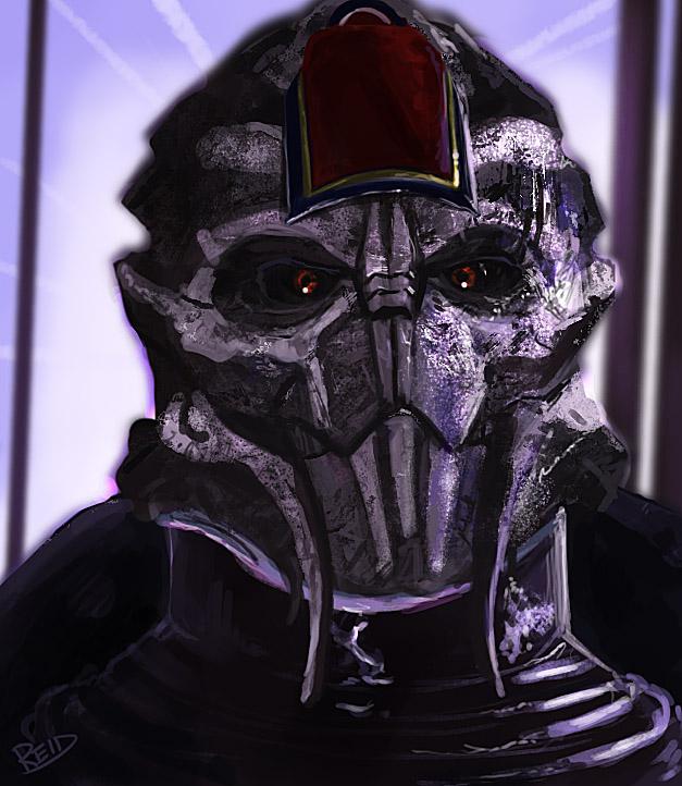 Mass Effect: Speedpaint Video by Rahll
