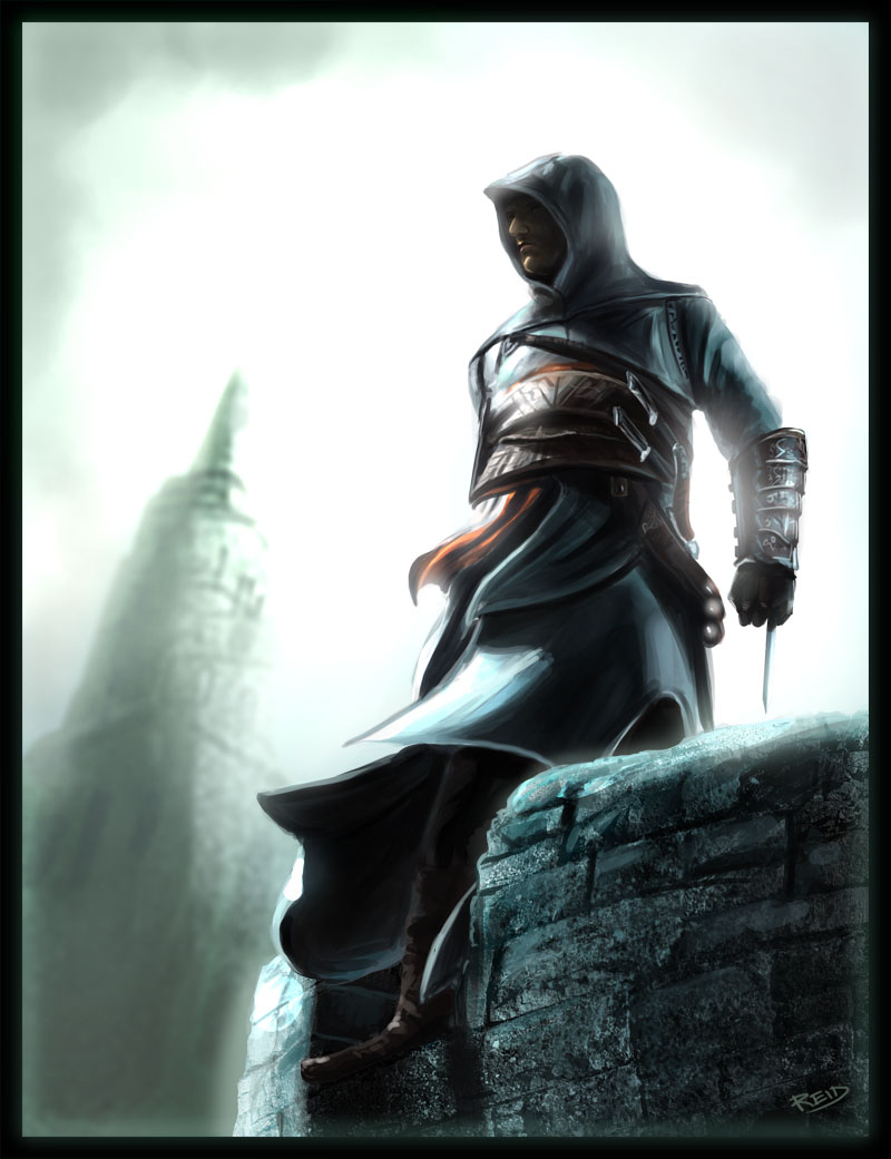 Annalyse Sa Proie Altair___Assassin__s_Creed_by_Rahll