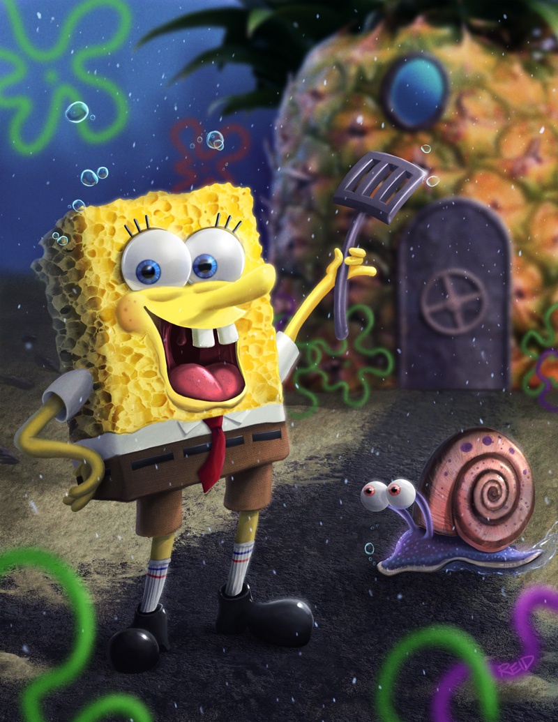 Spongebob By Rahll On Deviantart