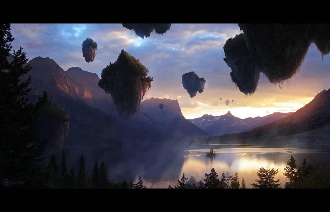 Island Relativity by Rahll
