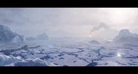 Amundsen Basin by Rahll