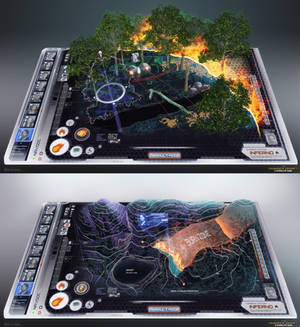Hunger Games - Fire Interfaces