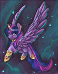 Personal: Twilight the alicorn by TomoCreations