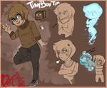 Darkiplier comic ref: TinyboxTim
