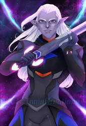 Lotor the eggplant by TomoCreations