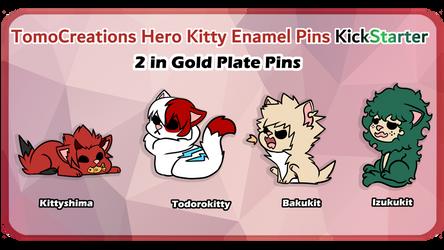 PIN KICKSTARTER! by TomoCreations