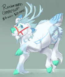 ReinDeer Commissions by TomoCreations