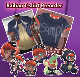 Pre-order: Raihan shirt
