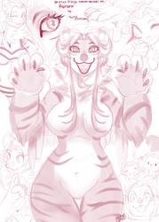 $35 sketch page: Aurora