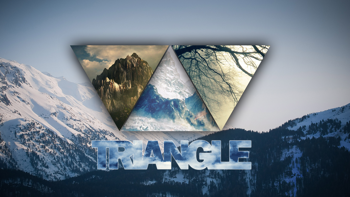 Most Inspiring Wallpaper Mountain Triangle - triangle___hd___wallpaper_by_cloudxe-d7gg94s  Gallery_365965.png