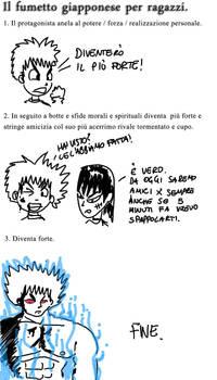 Il fumetto giapponese per ragazzi
