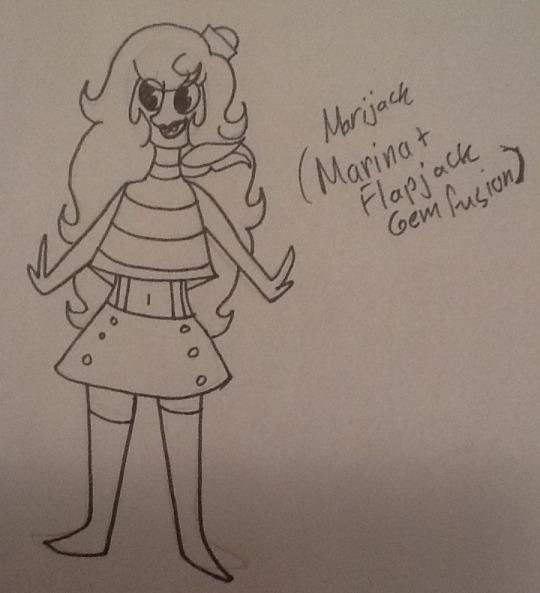Marijack Fusion by TheAwesomeGirl