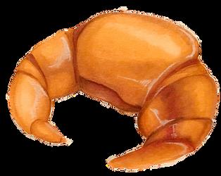 Croissant by pumpkinxspice