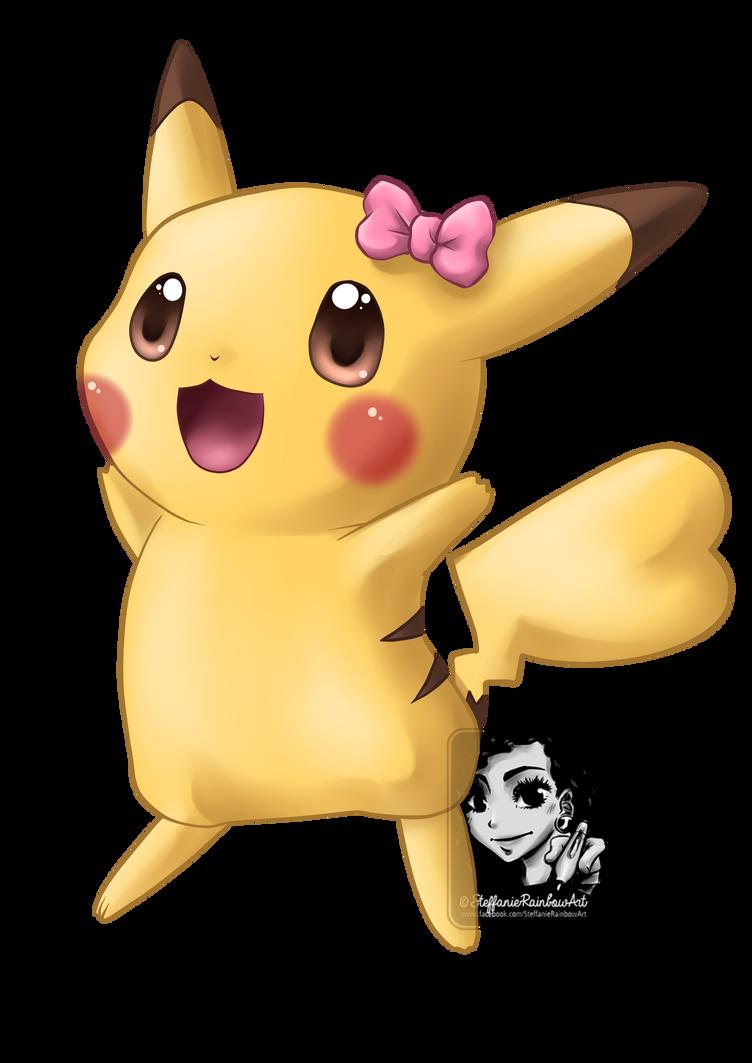 Cute pikachu by shihonrainbow on deviantart - Pikachu kawaii ...