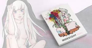My first art book - Iridescent!