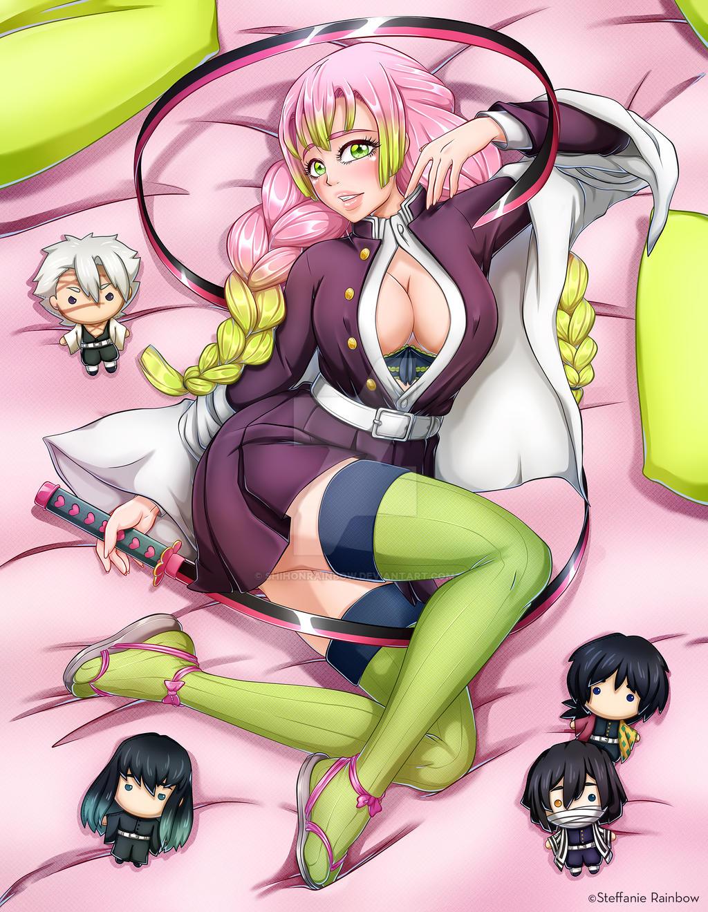 Mitsuri from Demon Slayer
