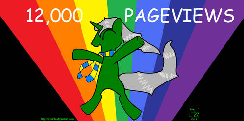 12000 pageviews for K4nK4n by K4nK4n