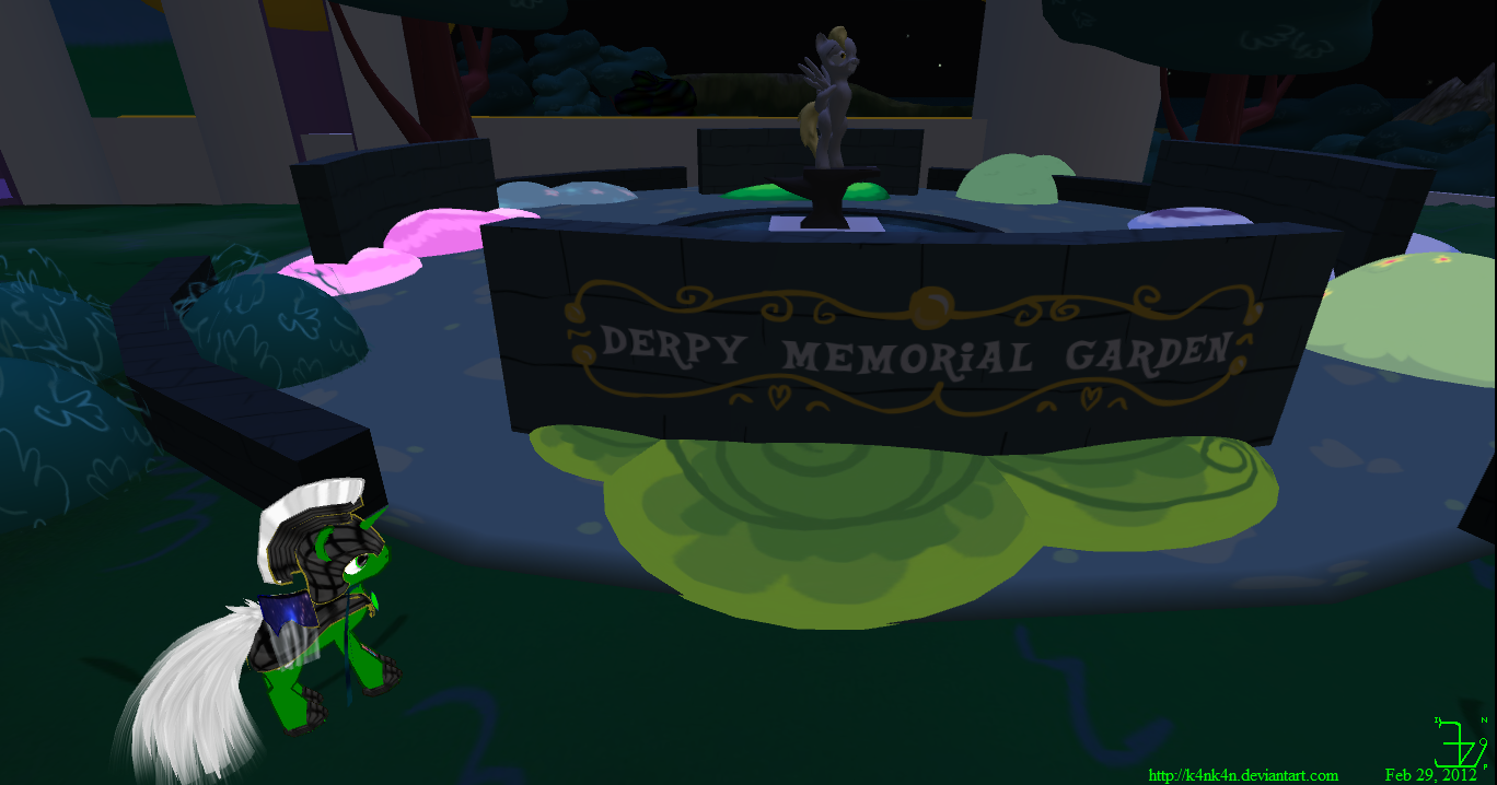 Derpy Memorial Garden by K4nK4n